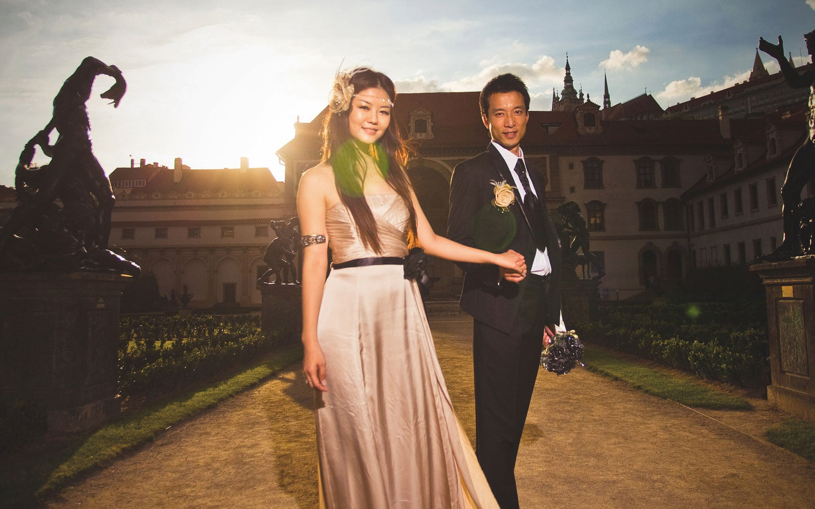 Prague pre weddings / Yvonne & Raymond /Prague portrait photography