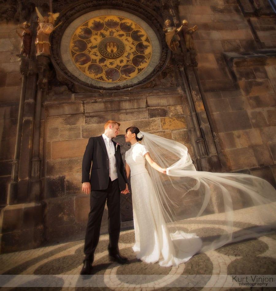 Vrtbovska Garden Wedding Prague / Roni & Tom (HK) wedding day