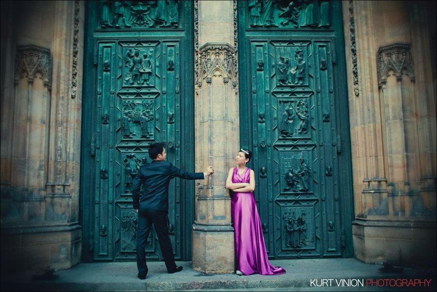 Read more about the article Prague pre wedding:  Janice & Joel portrait session