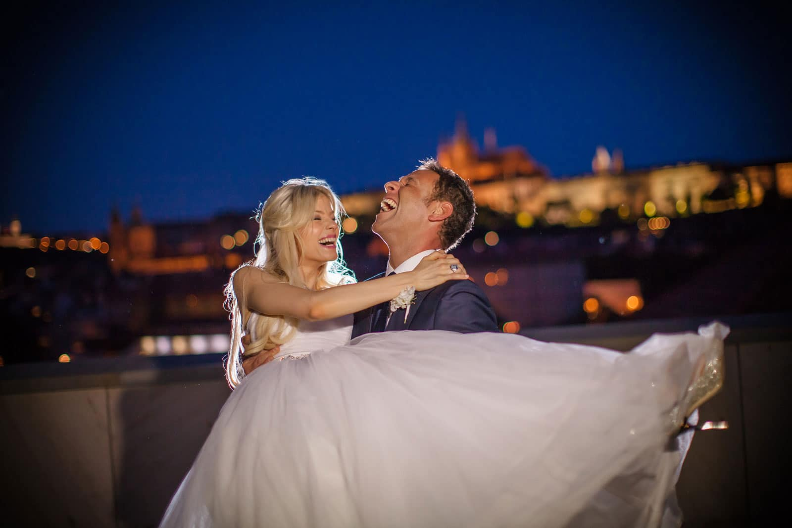 Prague St. Thomas Church:  Julia+Sergio wedding day
