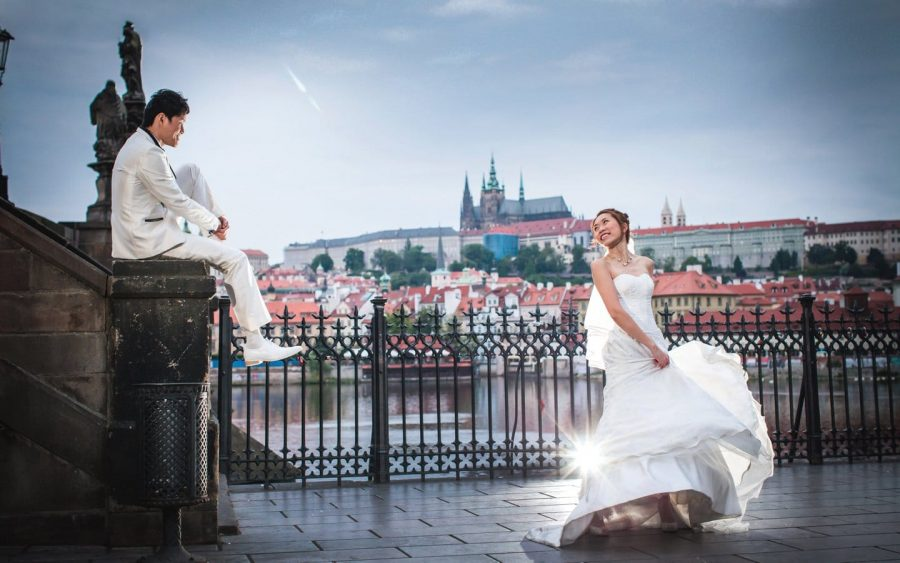 Prague pre wedding / A&M pre wedding portrait session