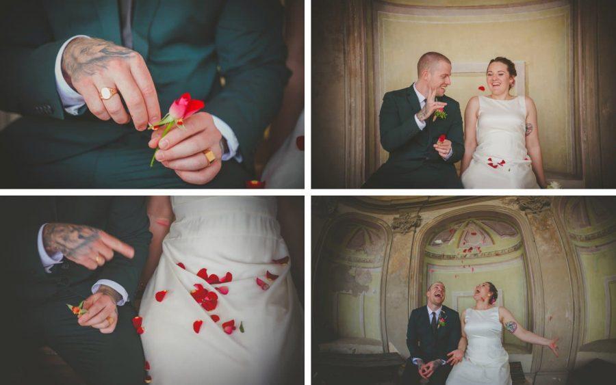 'she loves me she loves me not - oh fuck it!' an alternative take on a Prague wedding