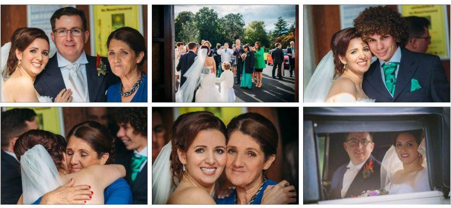 Franciscan Abbey Multyfarnham, wedding, natural light, congratulations, hugs, happy people