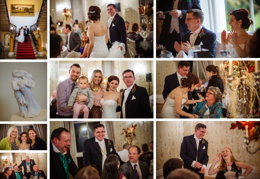 Middleton Park House Hotel, dinner & reception, happy people, couples, babies