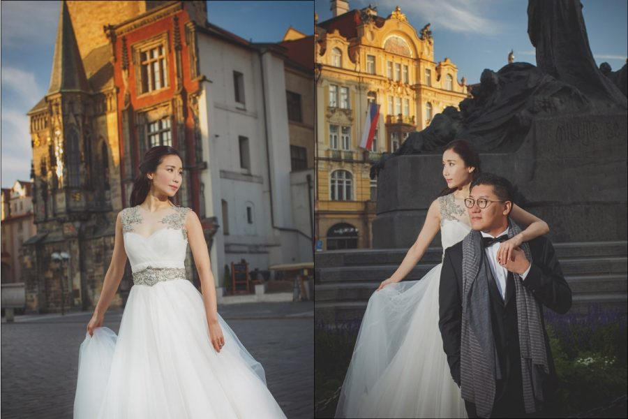 Magazine-styled-pre-wedding-portraits-Prague
