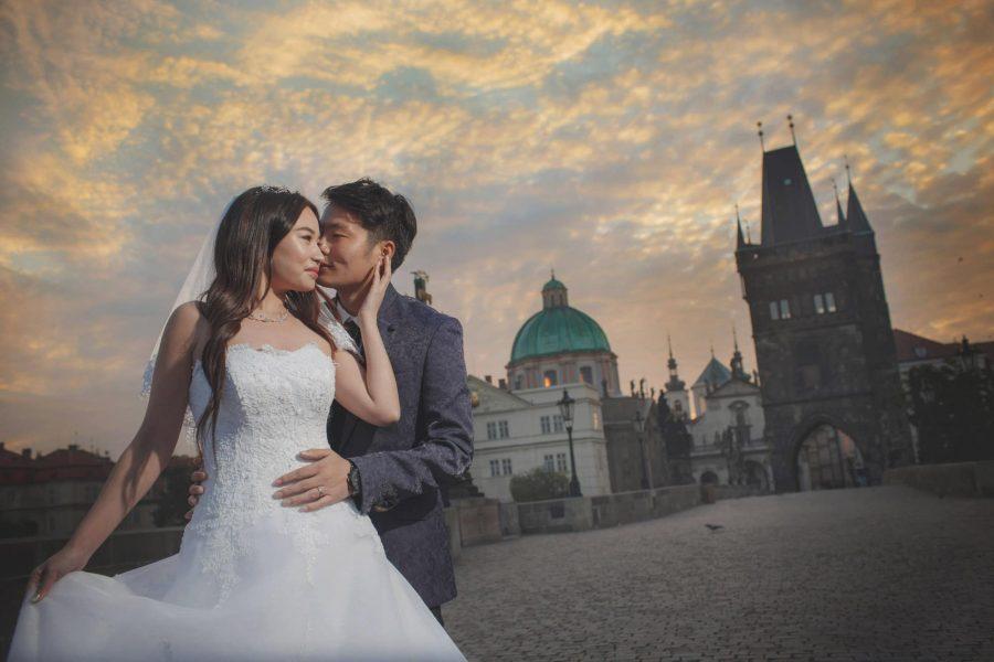 pre-weddings photos Prague