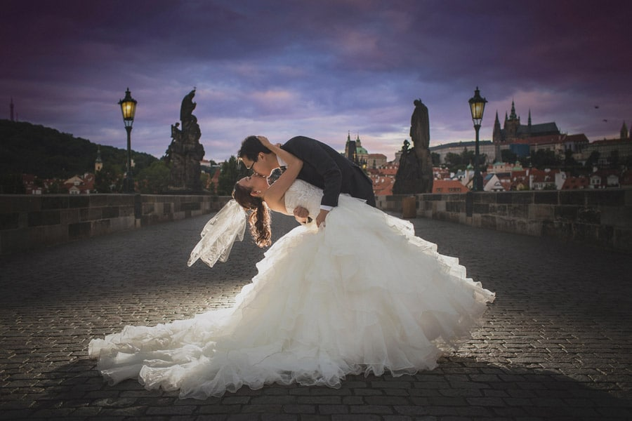 pre wedding Prague – R&A (USA) sunrise & sunset portraits