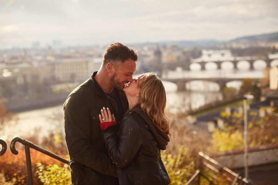 A fantastic view, picture perfect for our latest couple whose lifestyle session became a surprise marriage proposal