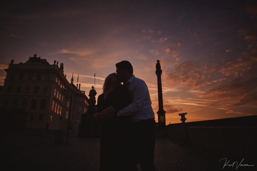 Prague engagement photographer