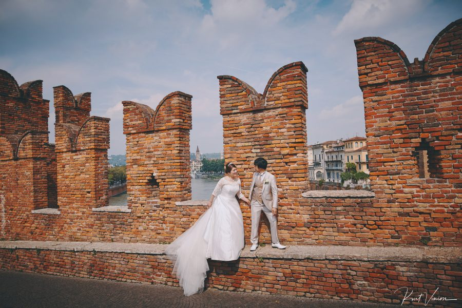 ED (Japan) elopement wedding photography Verona Italy