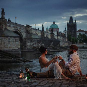 Anniversary portrait session Prague