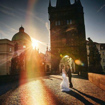 Wendy & Jack pre wedding in Prague